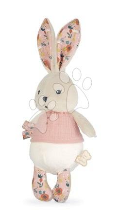 Handrové bábiky - Handrová bábika zajačik Coquelicot Rabbit Doll Poppy K'doux Kaloo ružový 25 cm z jemného materiálu od 0 mes_1