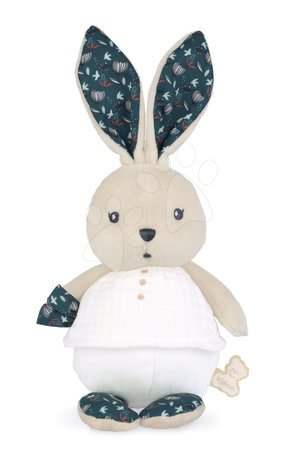 Hadrové panenky - Hadrová panenka zajíček Nature Rabbit Doll K'doux Kaloo bílý 25 cm z jemného materiálu od 0 měsíců
