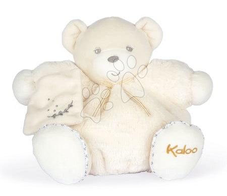 Plyšoví medvědi - Plyšový medvěd Chubby Bear Cream Perle Kaloo krémový 25 cm z jemného měkkého materiálu od 0 měsíců
