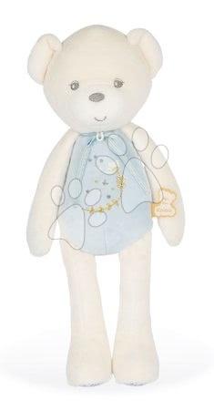 Plyšoví medvědi - Plyšový medvěd s hudbou Musical Doll Bear Perle Kaloo modrý 35 cm s jemnou melodií z měkkého materiálu od 0 měsíců