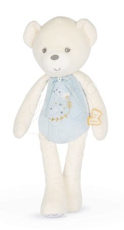 Plyšoví medvědi - Plyšový medvěd s hudbou Musical Doll Bear Perle Kaloo modrý 35 cm s jemnou melodií z měkkého materiálu od 0 měsíců_1