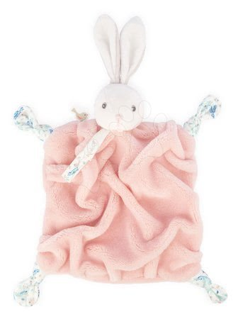 Hračky do postieľky  - Plyšový zajačik maznáčik Plume Doudou Rabbit Powder Pink Kaloo ružový 20 cm pre bábätká v darčekovom balení od 0 mes
