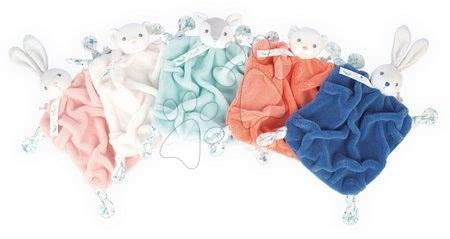Hračky do postieľky  - Plyšový zajačik maznáčik Plume Doudou Rabbit Powder Pink Kaloo ružový 20 cm pre bábätká v darčekovom balení od 0 mes_1