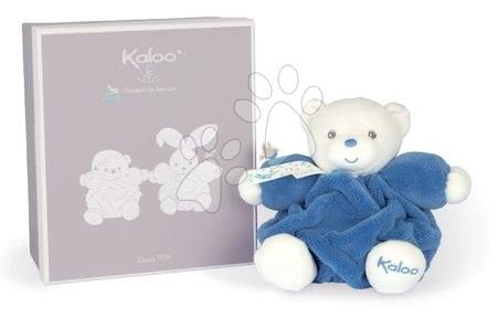 Plyšoví medvědi - Plyšový medvěd Chubby Bear Ocean Blue Plume Kaloo modrý 18 cm z jemného měkkého materiálu v dárkovém balení od 0 měsíců_1