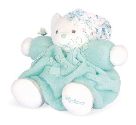 Plyšoví medvědi - Plyšový medvěd Chubby Bear Water Plume Kaloo tyrkysový 25 cm z jemného měkkého materiálu v dárkovém balení od 0 měsíců_1