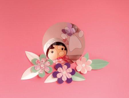 Bábiky pre dievčatá - Bábika pre bábätká Perle K Tendresse doll XXL Kaloo 80 cm so srdiečkom v šatách z jemného textilu od 0 mes_1