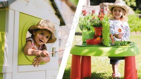 Domčeky pre deti s pieskoviskom