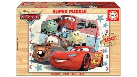 Dřevěné Disney puzzle
