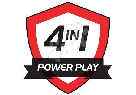 masă de fotbal din lemn powerplay 4in1