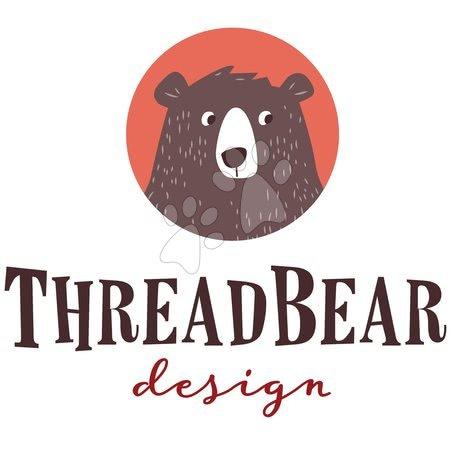 ThreadBear design - Păpușă tricotată roz Baby Beau Knitted Doll Threadbear 24 cm din bumbac moale și cutie cadou de la 0 luni TB4037_1