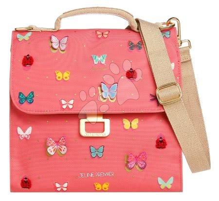 Kutije za užinu - Kutija za užinu Lunch Bag Butterfly Pink Jeune Premier ergonomska luksuzni dizajn