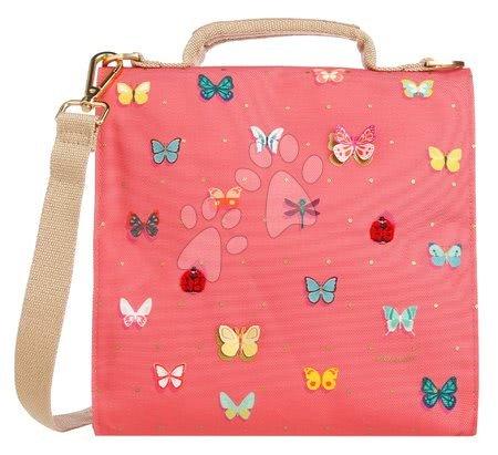 Kutije za užinu - Kutija za užinu Lunch Bag Butterfly Pink Jeune Premier ergonomska luksuzni dizajn_1