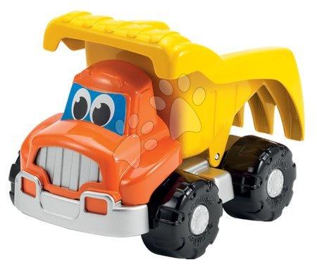 Hry na zahradu - Set stavební auta Bořek stavitel Écoiffier vyklápěčka, silniční válec, bagr oranžové od 18 měsíců_1