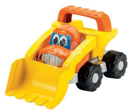 Autá do piesku - Bager Bob stavbár Écoiffier dĺžka 23 cm oranžový od 18 mes