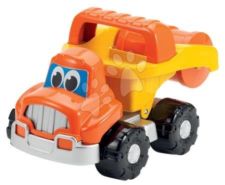 Autá do piesku - Stavebné auto cestný valec Bob stavbár Écoiffier dĺžka 24 cm oranžové od 18 mes