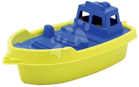 Loďka do vody Écoiffier (délka 33,5 cm) žluto-modrá od 18 měsíců