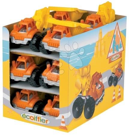 Stavební stroje - Autíčko Écoiffier pracovní délka 19 cm vyklápěč / bagr od 18 měsíců_1