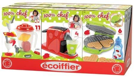 Spotřebiče do kuchyňky - Kávovar do kuchyňky 100% Chef Écoiffier se 4 doplňky od 18 měsíců_1