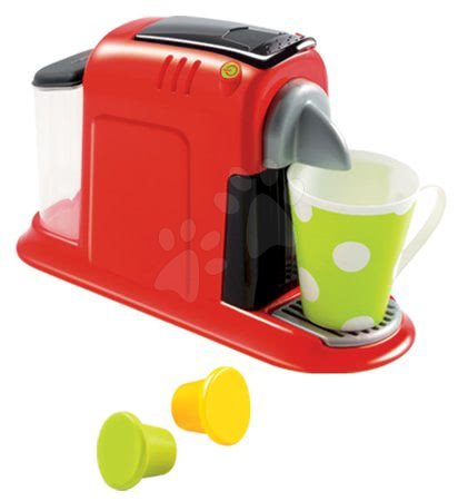 Spotřebiče do kuchyňky - Kávovar do kuchyňky 100% Chef Écoiffier se 4 doplňky od 18 měsíců