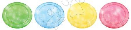 Discuri zburătoare - Disc zburător Écoiffier diametru 23 cm transparent roşu/albastru de la 18 luni