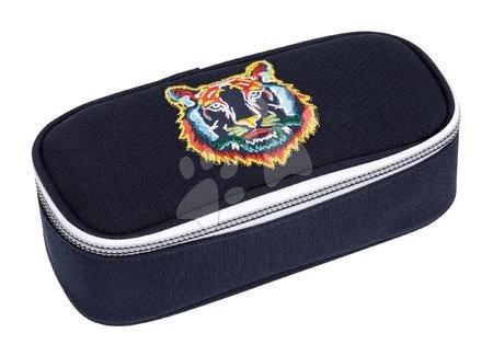 Školske pernice - Školska pernica Pencil Box Tiger Navy Jeune Premier ergonomska luksuzni dizajn