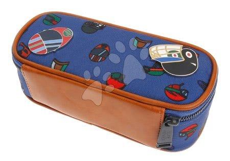 Školske pernice - Školska pernica Pencil Box Sports Caps Jeune Premier ergonomska luksuzni dizajn_1
