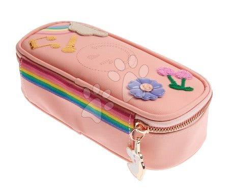 Školske pernice - Školska pernica Pencil Box Lady Gadget Pink Jeune Premier ergonomska luksuzni dizajn 22*7 cm_1