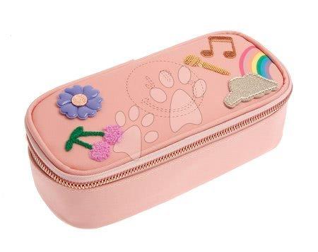 Školske pernice - Školska pernica Pencil Box Lady Gadget Pink Jeune Premier ergonomska luksuzni dizajn 22*7 cm
