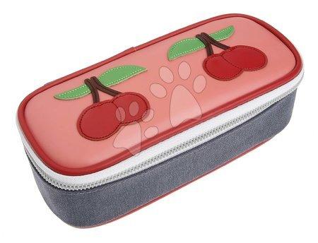 Školske pernice - Školský peračník Pencil Box Cherry Pink Jeune Premier ergonomický luxusné prevedenie 22*7 cm JPPB021137