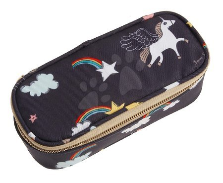Školske pernice - Školska pernica Pencil Box Rainbow Unicorn Jeune Premier ergonomska luksuzni dizajn 22*7 cm