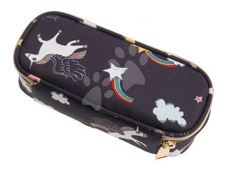 Školske pernice - Školska pernica Pencil Box Rainbow Unicorn Jeune Premier ergonomska luksuzni dizajn 22*7 cm_1