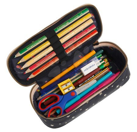 Školske pernice - Školský peračník Pencil Box Balloons Jeune Premier ergonomický luxusné prevedenie 22*7 cm JPPB021165_1