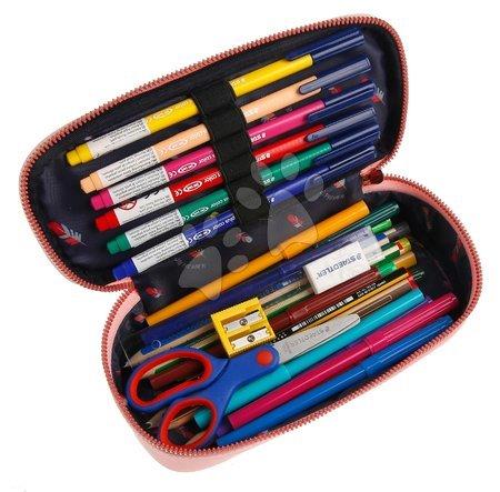 Školske pernice - Školský peračník Pencil Box Miss Daisy Jeune Premier ergonomický luxusné prevedenie 22*7 cm JPPB021166_1