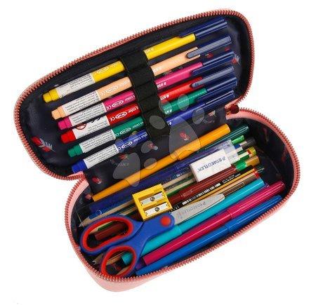 Školske pernice - Školský peračník Pencil Box Icons Jeune Premier ergonomický luxusné prevedenie 22*7 cm JPPB021167_1