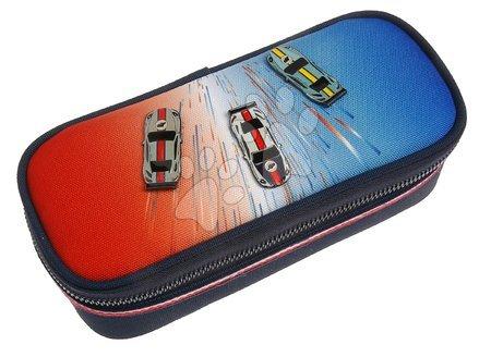 Školske pernice - Školský peračník Pencil Box Racing Club Jeune Premier ergonomický luxusné prevedenie 22*7 cm JPPB021171