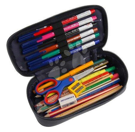Školske pernice - Školský peračník Pencil Box Racing Club Jeune Premier ergonomický luxusné prevedenie 22*7 cm JPPB021171_1