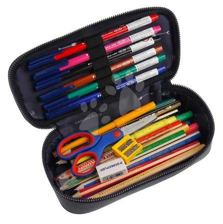 Školske pernice - Školský peračník Pencil Box Sharkie Jeune Premier ergonomický luxusné prevedenie 22*7 cm JPPB021174_1