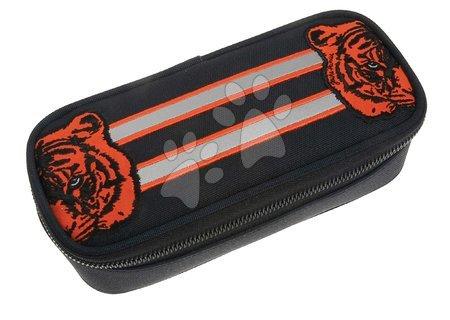 Školske pernice - Školský peračník Pencil Box Tiger Twins Jeune Premier ergonomický luxusné prevedenie 22*7 cm JPPB021178