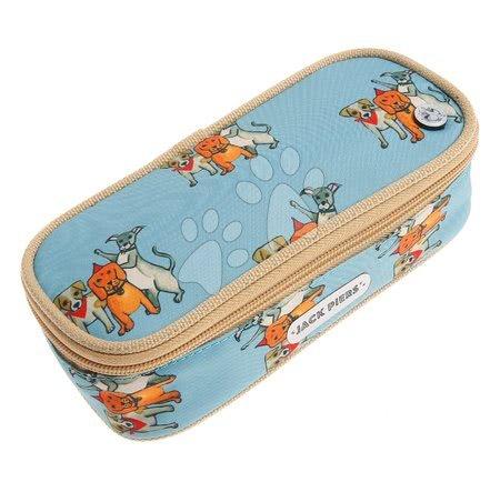 Tolltartó Pencil Case Party Dogs Jack Piers ergonomikus luxus kivitelben 2 évtől 22*7*9 cm