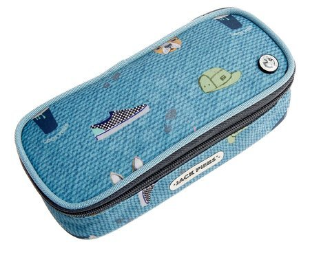 Školski pribor - Školský peračník Pencil Case Cool Vibes Jack Piers ergonomický luxusné prevedenie od 2 rokov 20*6*9 cm JPPC021241