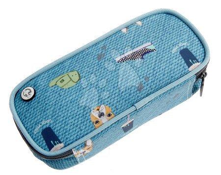 Školski pribor - Školský peračník Pencil Case Cool Vibes Jack Piers ergonomický luxusné prevedenie od 2 rokov 20*6*9 cm JPPC021241_1