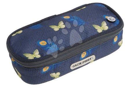 Školski pribor - Školský peračník Pencil Case Feather Jack Piers ergonomický luxusné prevedenie od 2 rokov 20*6*9 cm JPPC021243