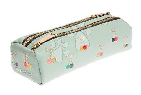 Školske pernice - Školska pernica Pencil Case Double Cherry Fun Jeune Premier ergonomska luksuzni dizajn