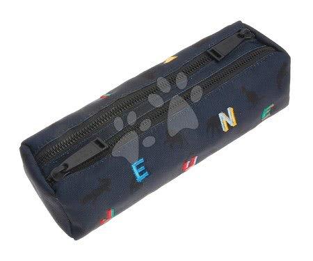 Školske pernice - Školska pernica Pencil Case Double Safari Jeune Premier ergonomska luksuzni dizajn_1