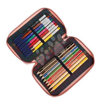 Školske pernice - Školska pernica Pencil Box Filled Lady Gadget Pink Jeune Premier ergonomska luksuzni dizajn 20*7 cm_1