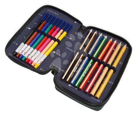 Školske pernice - Školský peračník Pencil Box Filled Mr. Gadget Jeune Premier ergonomický luxusné prevedenie 20*7 cm JPPF021169_1