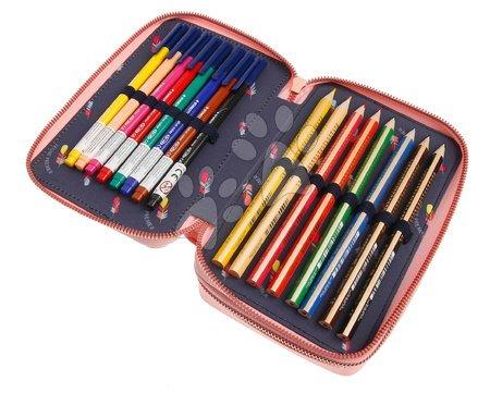 Školske pernice - Školský peračník Pencil Box Filled Tiara Tiger Jeune Premier ergonomický luxusné prevedenie 20*7 cm JPPF021177_1