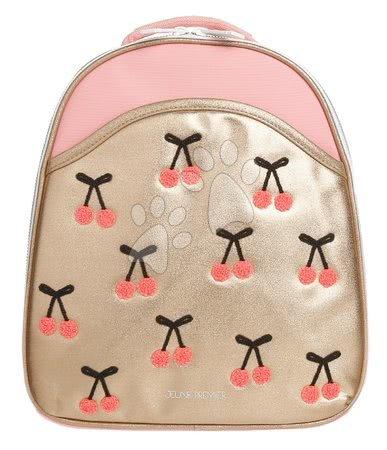 Školski pribor - Školska torba ruksak Backpack Ralphie Cherry Pompon Jeune Premier ergonomski luksuzni dizajn 31*27 cm