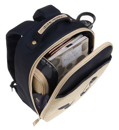 Školski pribor - Školská taška batoh Backpack Ralphie Icons Jeune Premier ergonomický luxusné prevedenie 31*27 cm JPRA021167_1