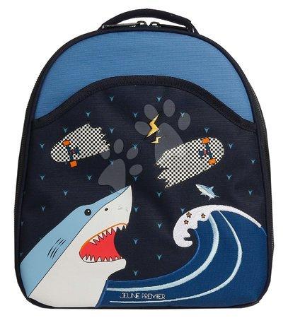 Školski pribor - Školská taška batoh Backpack Ralphie Sharkie Jeune Premier ergonomický luxusné prevedenie 31*27 cm JPRA021174